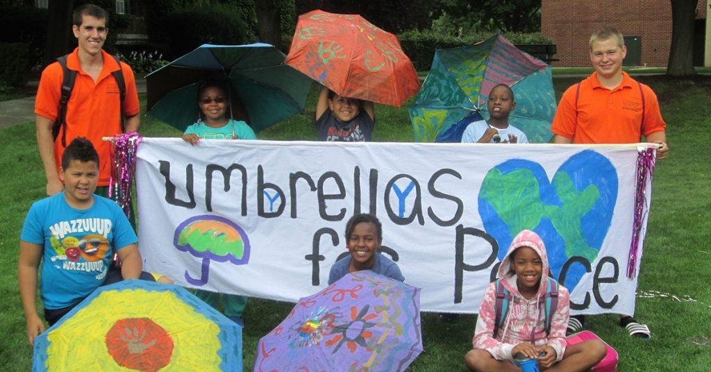 Chicago Private School - Umbrellas