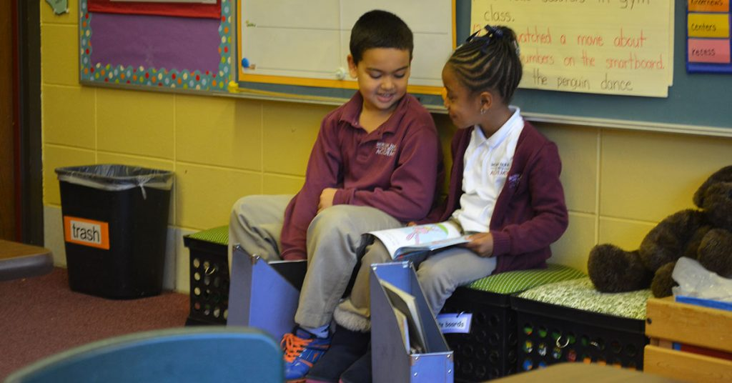 Chicago Private School - Sharing Stories