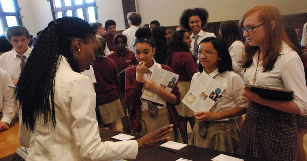 Chicago Private School - College Fair