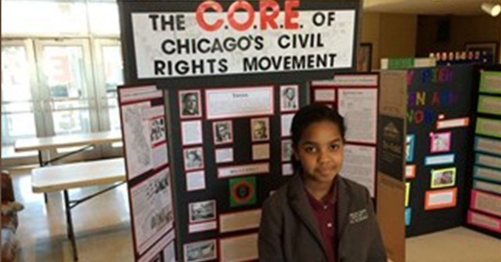 Chicago Private School - History Fair