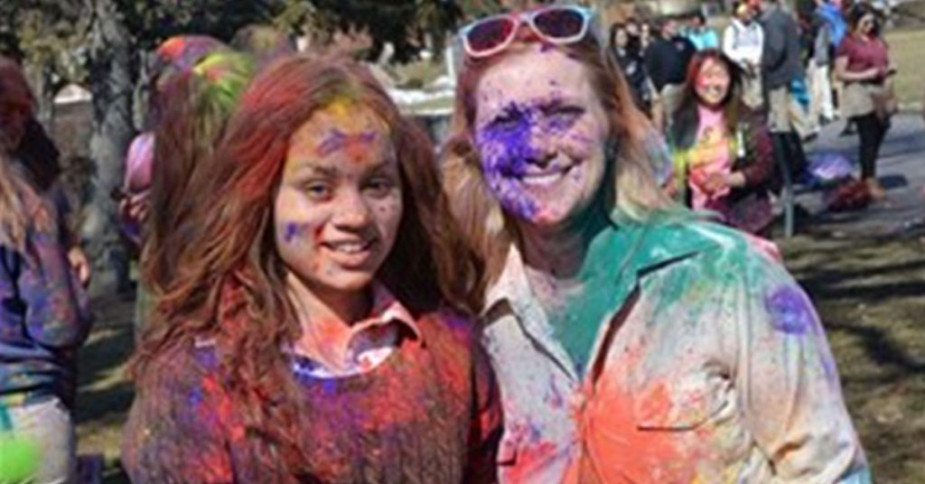 Chicago Private School - Holi Festival
