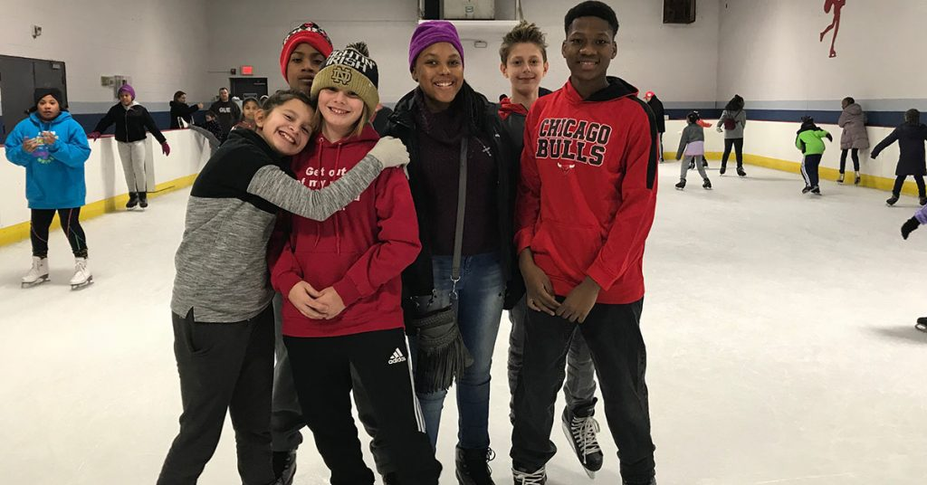 Chicago Private School - Ice Skating