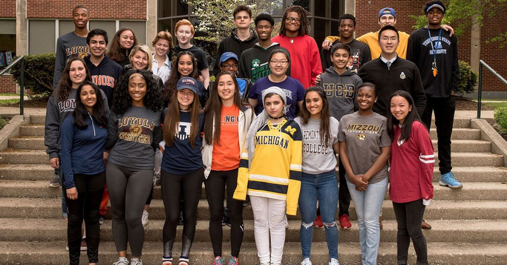 Chicago Private School - College Acceptances